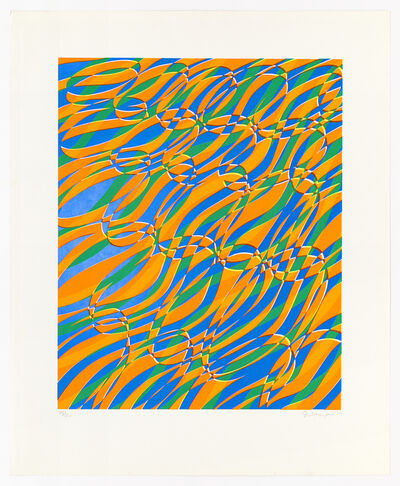 Stanley William Hayter, 'Aquaria Series B', 1970