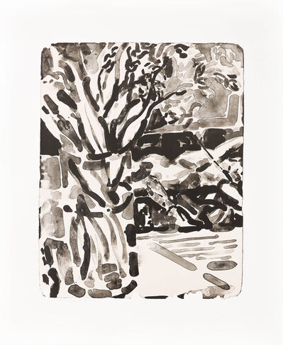 Elizabeth Peyton, 'Flowers and Moreau in August ', 2014