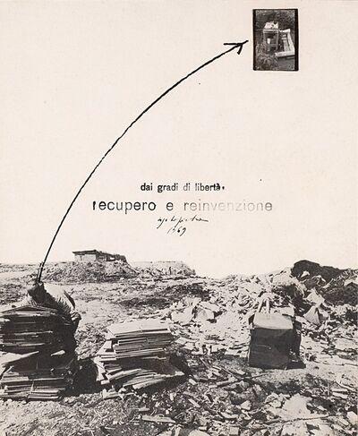 Ugo La Pietra, 'Dai Gradi di Libertà, Recupero e reinvenzione', 1969