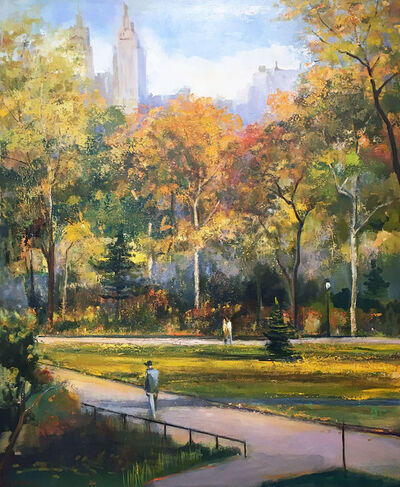 Lawrence Kelsey, 'Autumn Afternoon Walk', 2006
