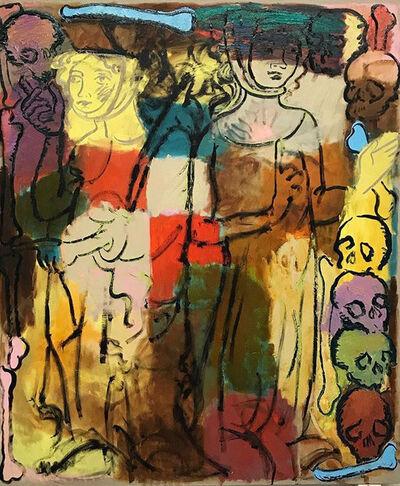 Delphine Hennelly, 'Deux femmes en conversation', 2020