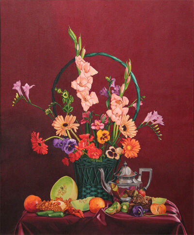 Mary Sims, 'Untitled Melons/Teapot', ca. 1985
