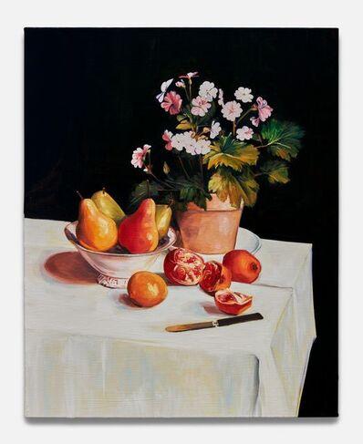 Sam McKinniss, 'Still Life with Primroses, Pears and Promenates (after Fantin-Latour)', 2018