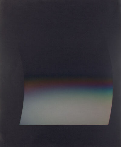Larry Bell, 'PCFBK 8 (Planal Curve Fade on Black)', 1979