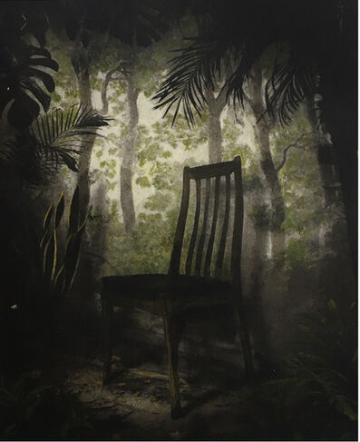 Suzanne Moxhay, 'Overgrown Room with Chair', 2019