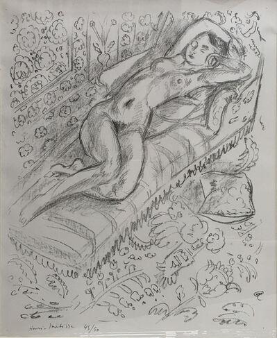 Henri Matisse, 'Nu Sur Chaise de Repos sur Fond Moucharabich', 1922