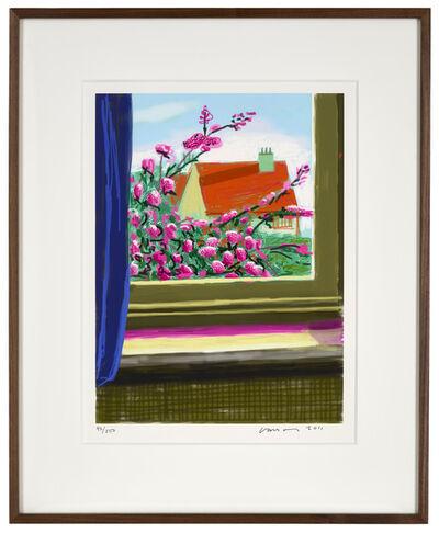 """David Hockney, '17th April 2011 """"No. 778""""', 2011"""