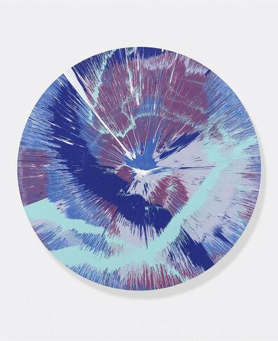 Damien Hirst, 'Beautiful, Splashing, Crashing, Swirling, Rolling, Rippling, Wavy Spin Painting', 2016