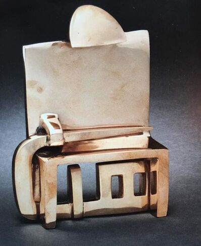 Parviz Tanavoli, 'Chair VIII from Heech & Chair', 2009