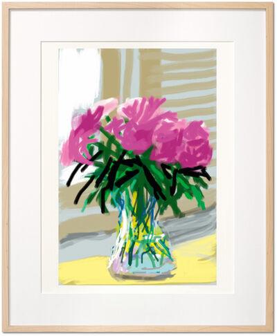 David Hockney, 'David Hockney. My Window. Art Edition (No. 1–250) 'No. 535', 28th June 2009', 2019