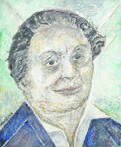Marie Vorobieff Marevna, 'Portrait of Diego Rivera, head and shoulders', c.1980