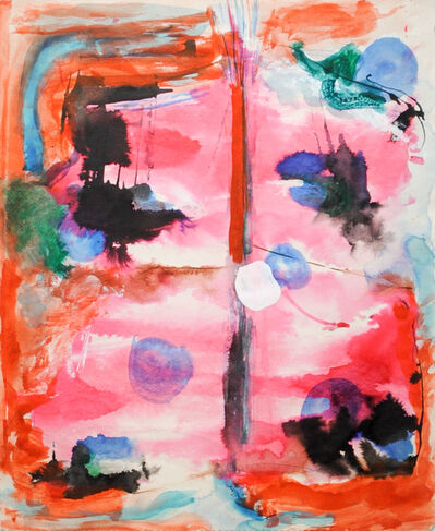 Dusti Bongé, 'Untitled (Pink, Blue and Orange Abstract)', ca. 1980