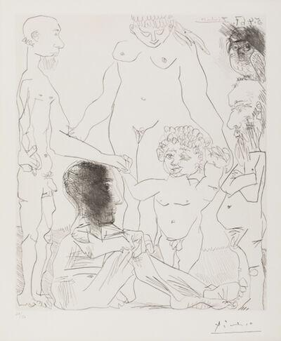 Pablo Picasso, 'Reflexion du Peintre sur la Vie (Reflection of the Painter on Life)', 1963