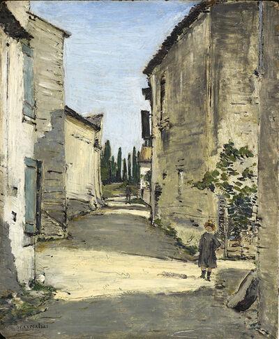 Jean François  Raffaëlli, 'Village provençal'