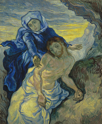 Vincent van Gogh, 'Pietà (after Delacroix)', 1889