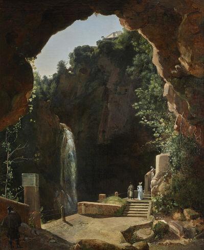 François-Marius Granet, 'The Grotto of Neptune in Tivoli ', 1810