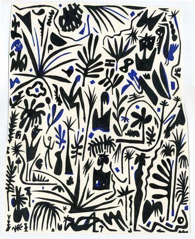 Alexander Kori Girard, 'A Black and Blue Picking', 2015