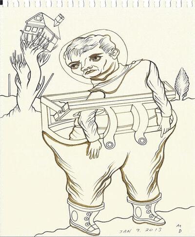 Matthew Dennison, 'Daily Drawings: January 9, 2013', 2013