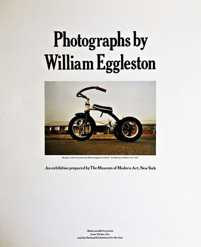 William Eggleston, 'Photographs by William Eggleston: An Exhibitation by The Museum of Modern Art, New York', 1976