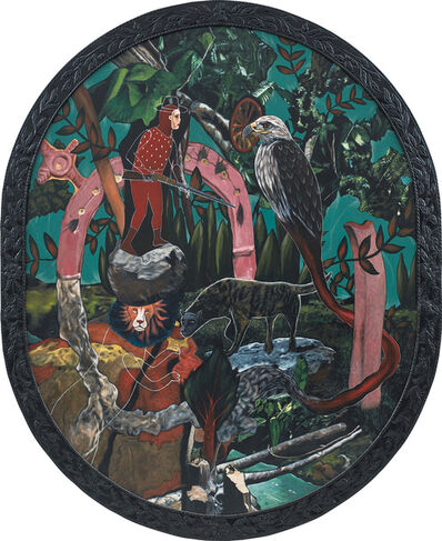 Rodel Tapaya, 'Protection in the Forest', 2013