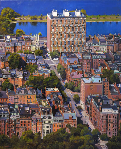Joel Babb, 'Back Bay Aerial View, Boston', 2005