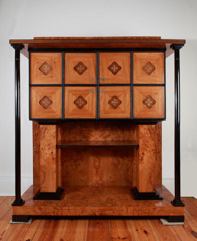 Joseph Maria Olbrich, 'Vienna Secession Music Room Cabinet ', ca. 1905