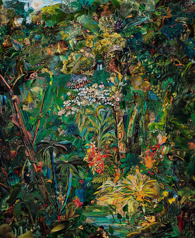 Vik Muniz, 'Repro: Brazilian Jungle, after Rugendas', 2019