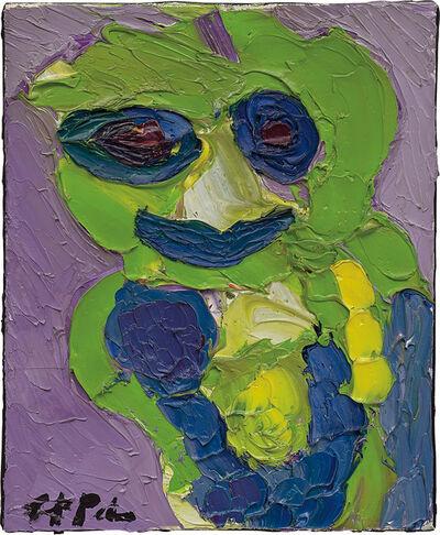 Karel Appel, 'Juffertje in het groen', 1985