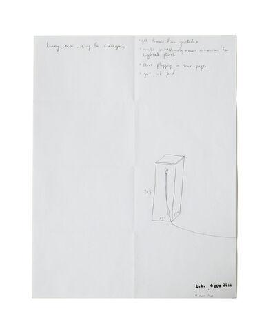 Terence Koh, 'Untitled -4th november 2011', 2011