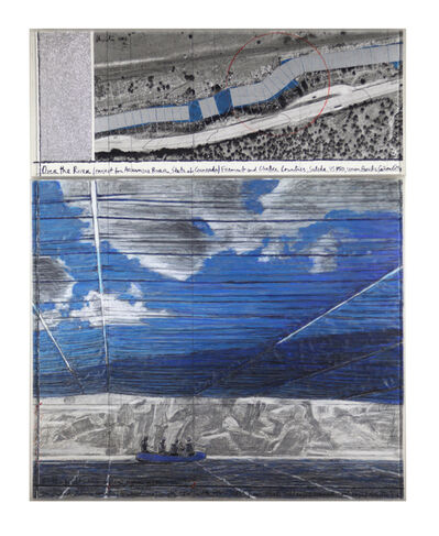 Christo, 'Over the River, Project for the Arkansas River, State of Colorado', 2006