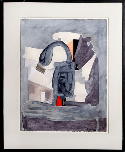 Eduardo Arranz-Bravo, 'Blue/Grey (from the Sweerts Suite)', 1990