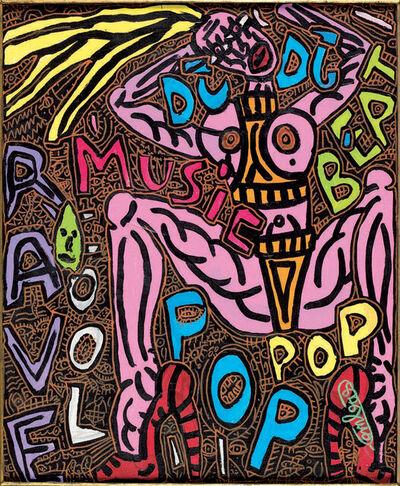 Robert Combas, 'DJ, DJ Beat Pop Music Rave Fool', 1996