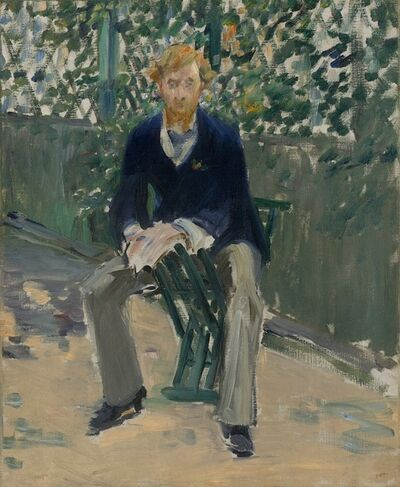 Édouard Manet, 'George Moore in the Artist's Garden', ca. 1879
