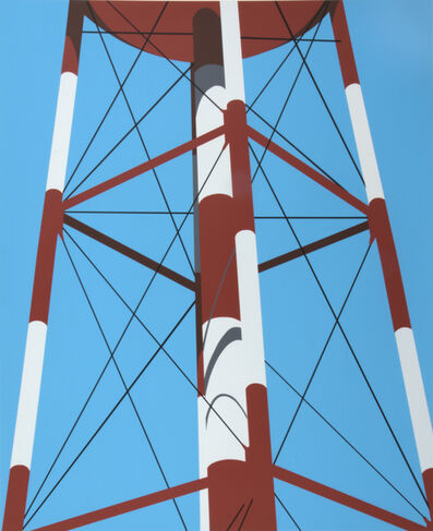 Allan D'Arcangelo, 'Watertower III', 1973