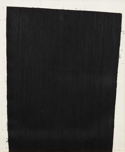 Richard Serra, 'Muddy Waters', 1987