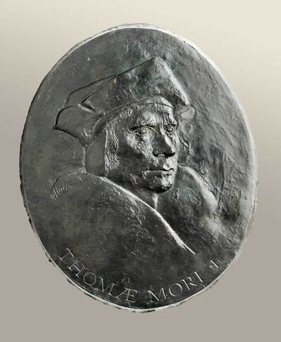 Elliot Offner, 'Thomas More (bas-relief)', 20th -21st Century