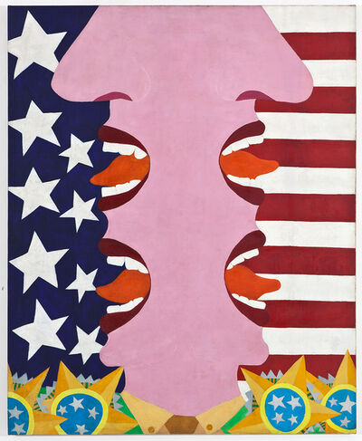Antonio Henrique Amaral, 'Homenagem séc. XX/XXI (20th/21st-Century Tribute)', 1967