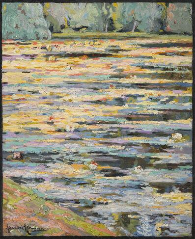 Alexander Altmann, 'Les nénuphars', 1916-1920