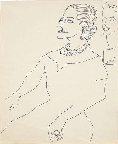 Andy Warhol, 'Helena Rubinstein', ca. 1957