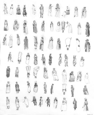 Charming Baker, '72 Women in Uniform', 2018