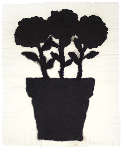 Donald Baechler, 'Untitled (Linen Flower #2)', 2004