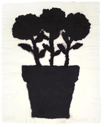 Donald Baechler, 'Untitled (Linen Flower #2)', 2004