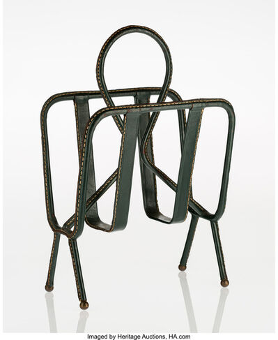 Jacques Adnet, 'Magazine Stand', circa 1950