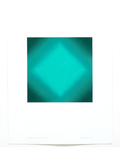 Ruth Pastine, 'Diamond, Green Light Series ', 2018
