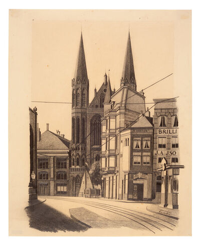Carl Grossberg, 'Amsterdam', 1925
