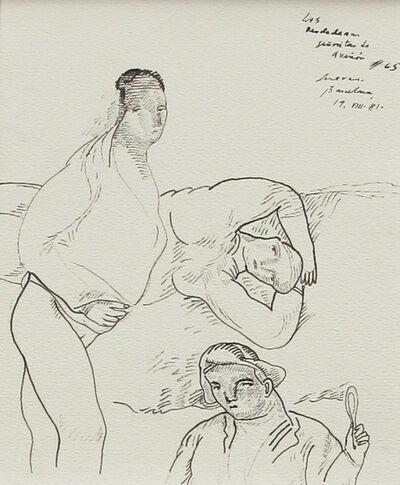Jose Luis Cuevas, 'Las verdaderas  señoritas de Aviñon 65', 1981