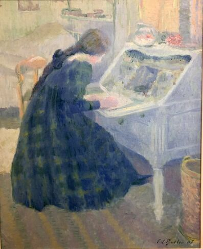 Theodore Earl Butler, 'Writing A Letter', 1908