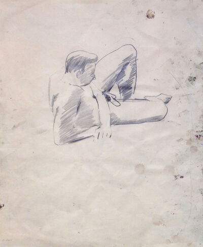 David Park, 'Untitled (male study)', 1955