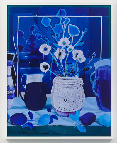Daniel Gordon, 'Still Life with White Poppies with Blue Lemons', 2018