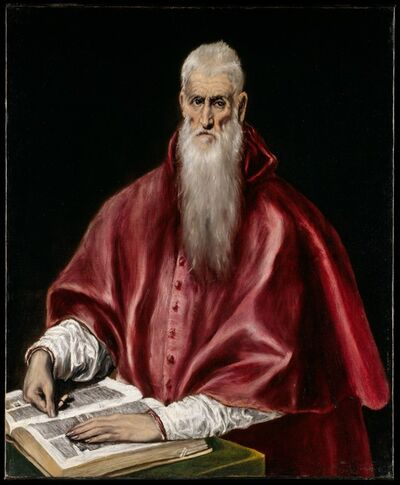 El Greco, 'Saint Jerome as Scholar', ca. 1610